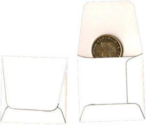 Pochettes numismatique papier