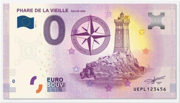 Pochettes pour billet euro souvenir