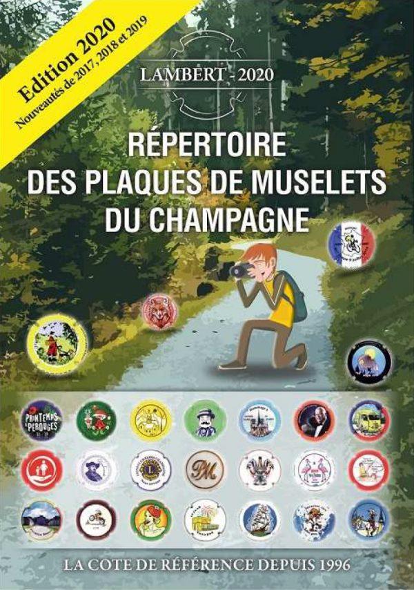 Répertoire des plaques de muselets du champagne Additif