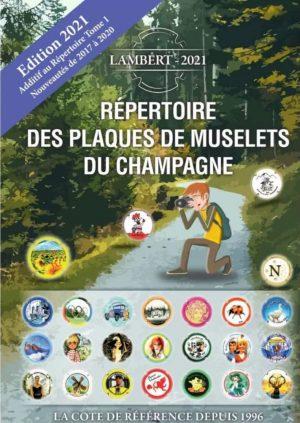 Répertoire des plaques de muselets du champagne Additif 2021