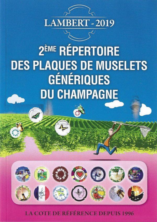 Répertoire des plaques de muselets génériques du champagne
