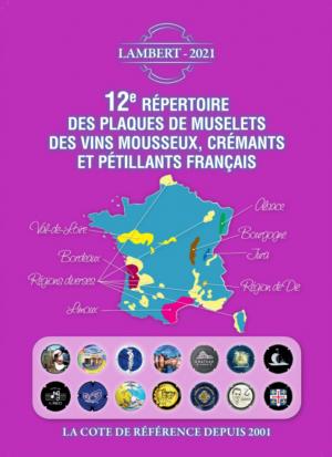 12ème Répertoire des plaques de muselets des vins mousseux français