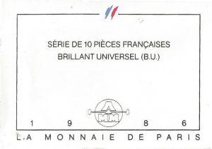 Série Brillant Universel 1986