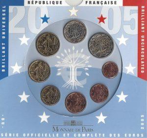 Série Brillant Universel euro 2005