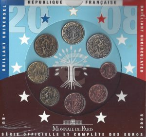 Série Brillant Universel euro 2008