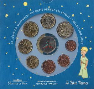 Série Brillant Universel euro Petit Prince 2003