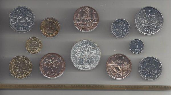 Série Fleur de coins 1983
