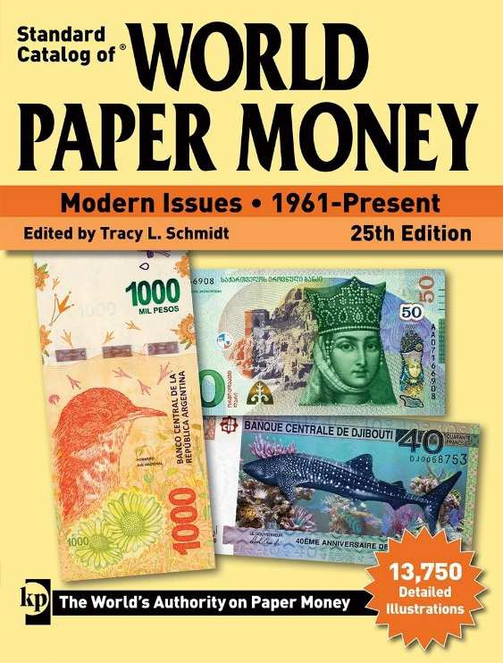 World Paper Money 1961 à 2019