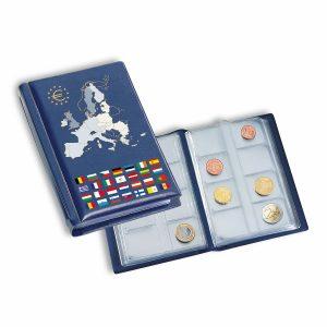 Album de poche pour 12 séries complètes d'euro