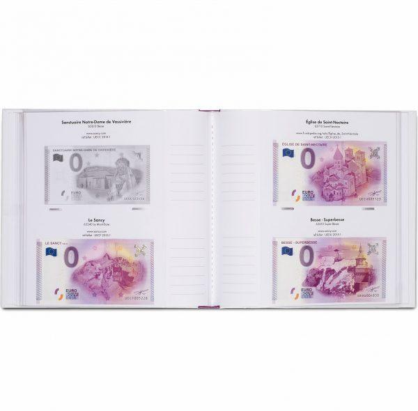 Album imprimé pour billets euro souvenir tome 1
