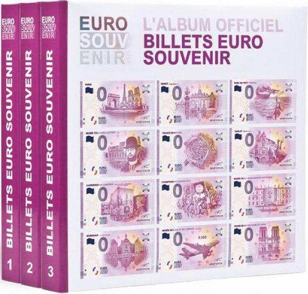 Album imprimé pour billets euro souvenir tome 1 a 3