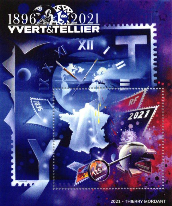Catalogue Yvert et Tellier 2021