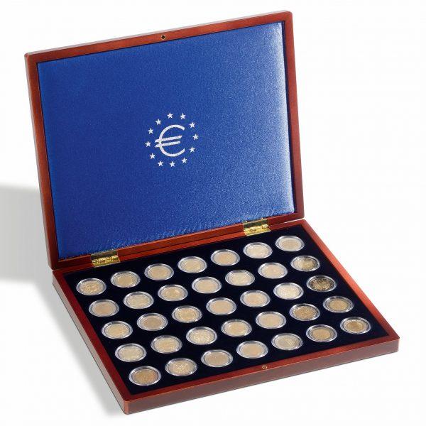 Coffret numismatique pour 2 euro