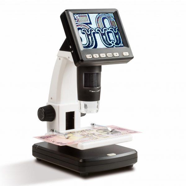 Microscope numismatique digital