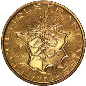 10 Francs Mathieu ESSAI 1974