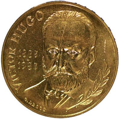 10 Francs Victor Hugo ESSAI 1985