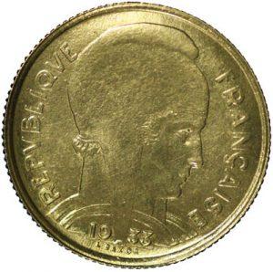 5 Francs Bazor ESSAI Grand module 1933