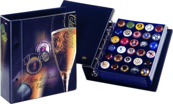 Album plaques de muselets de champagne