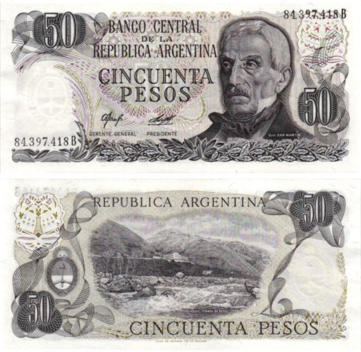 Billet de collection Argentine