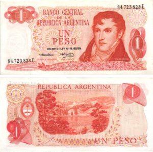 Billet de collection Argentine