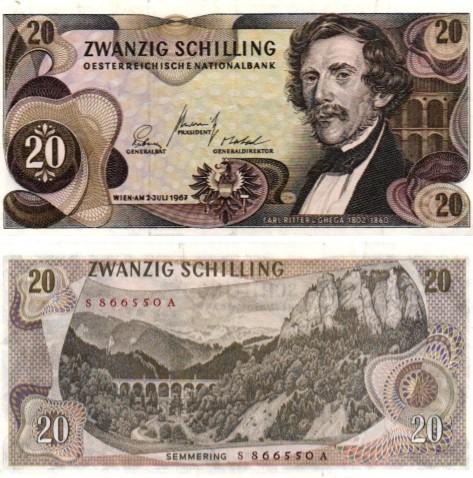 Billet de collection Autriche