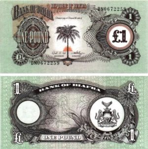 Billet de collection BIAFRA