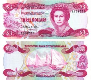 Billet de collection Bahamas