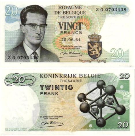 Billet de collection Belgique