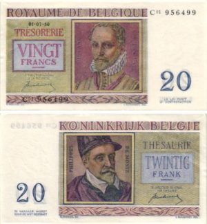 Billet de collection Belgique