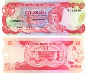 Billet de collection Belize