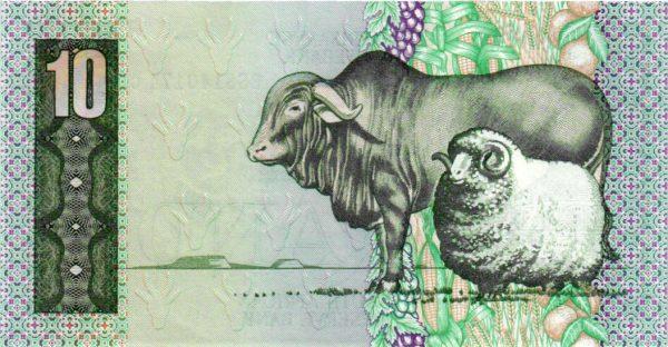 Billet de collection d'Afrique du Sud