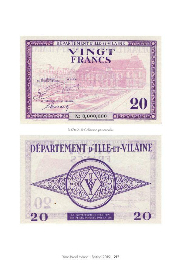 Catalogue des Billets d'Urgence de 1940