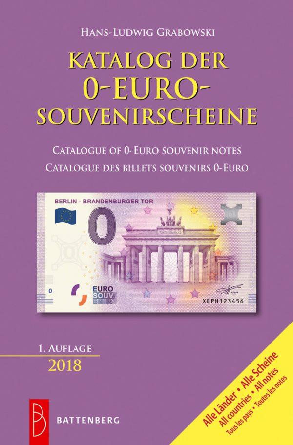 Catalogue des billets souvenirs 0 Euro