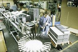 Leuchtturm - Production des pages à monnaies
