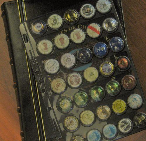 Album capsules champagne