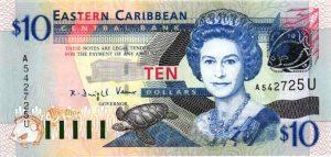 billet de collection Anguilla