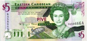 billet de collection Antigua et Barbuda