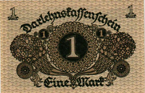 billet de collection d'Allemagne