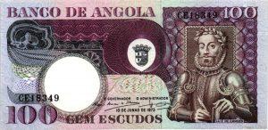 billet de collection d'Angola