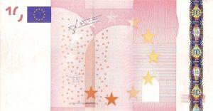 Billet fauté 10 euro