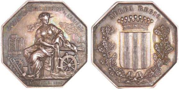 jeton-argent-societe-metallurgique