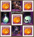 Timbres Halloween