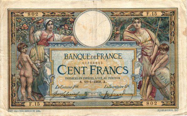 100 Francs Merson LOM 02