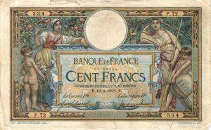Billet 100 Francs MERSON LOM