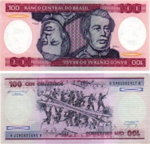 Billet de collection Brésil