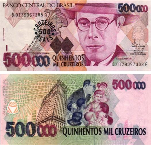 Billet de collection Brésil