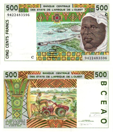 Billet de collection Burkina Faso
