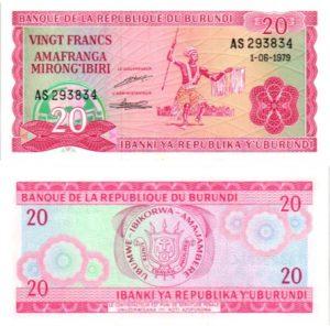 Billet de collection Burundi