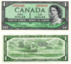 Billet de collection Canada