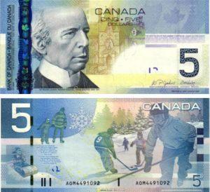 Billet de collection Canada